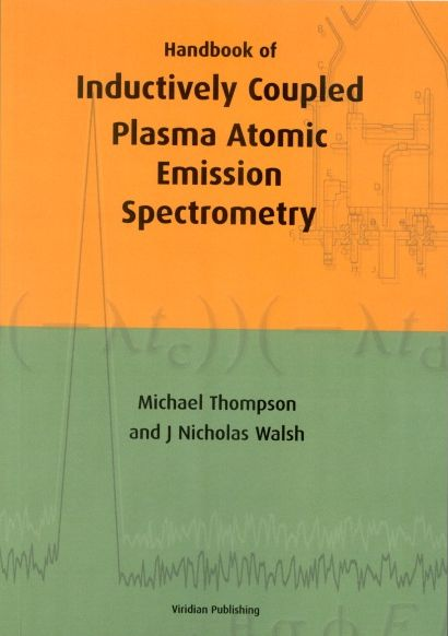 Handbook of Inductively coupled plasma atomic emission spectrometry